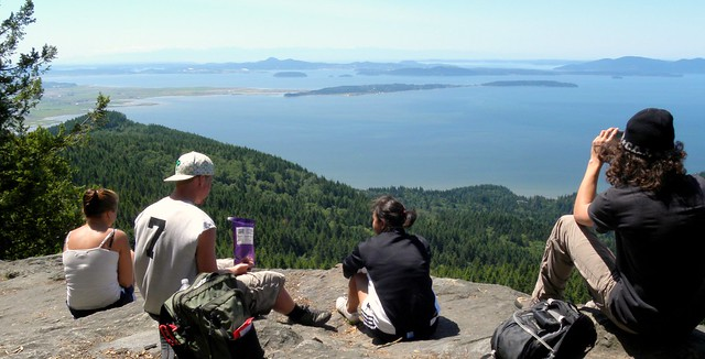 Atop Oyster Dome
