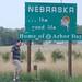 nebraska welcome sign (3) by bradleygee