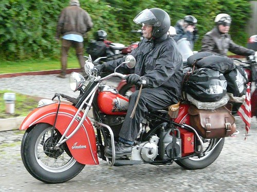 Indian Motorcycle Rally Highland Tour Fort Augustus Scotland 2009