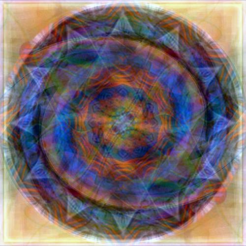 Six Blue Circles