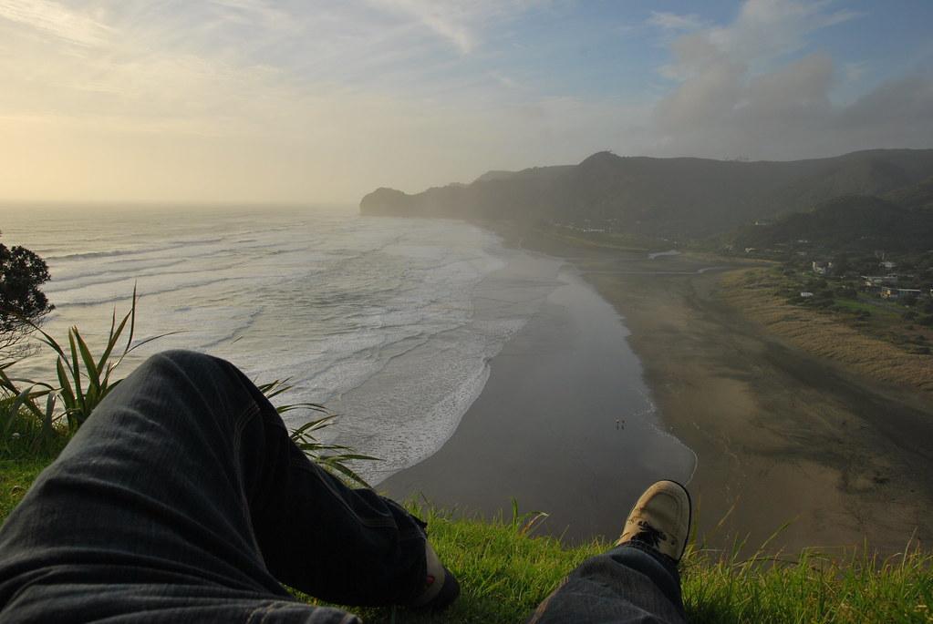 Piha Beach - Auckland - North Island - New Zealand