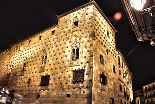 HDR Casa de las conchas de Salamanca