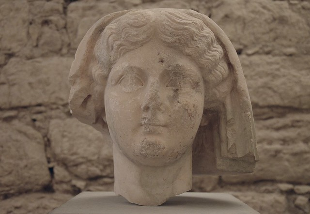 Portrait of Livia from Aeminium (Coimbra, Portugal), circa 30 AD, Machado de Castro National Museum, Coimbra, Portugal