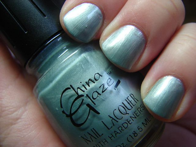 China Glaze Blue Fox