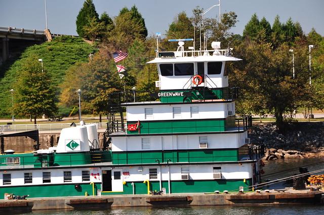 Greenwave Tugboat Port Of Mobile AL H Flickr Photo Sharing