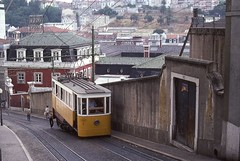 Trams funiculaires de Lisbonne (Anciennes photos) (Portugal)