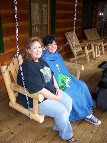 CabinCon 2009 - Deb and Mel