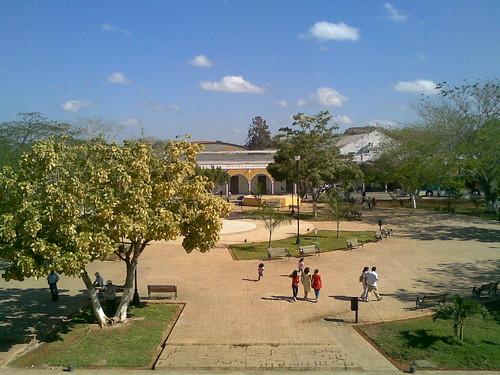 Parque principal de Izamal