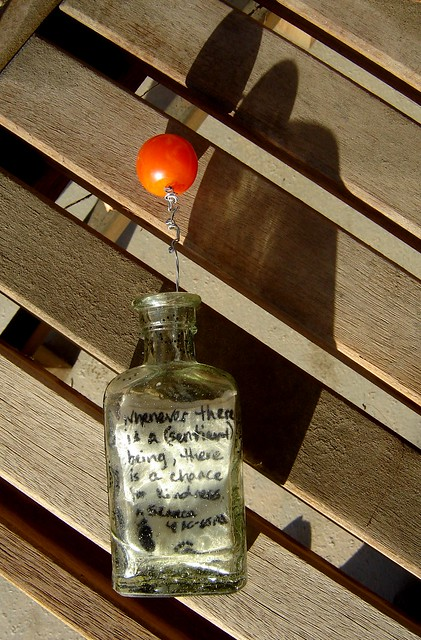 FAT-- 'Kindness' message in a bottle