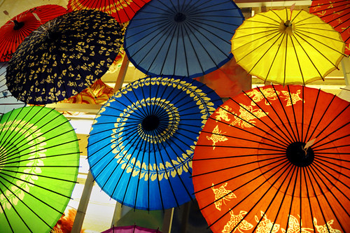 Chinese Paper Umbrella, Paper Umbrellas in China