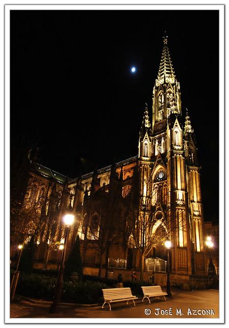 San Sebastián - Donostia. Catedral del Buen Pastor.