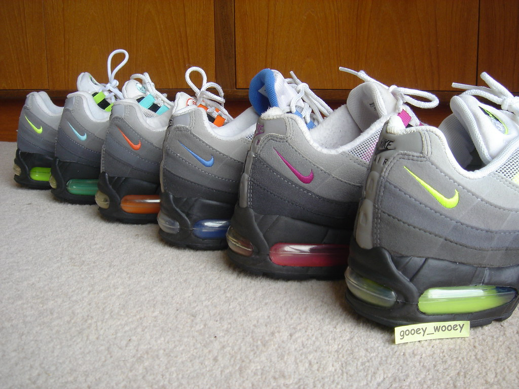 Nike Air Max 95 - My Grey Set - Neon ( 01    03) 51b9dd8fb