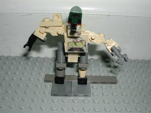 halo how to make a lego blister back