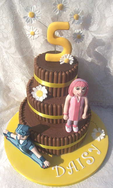lazy town cake a lazy town cake flickr photo 5437