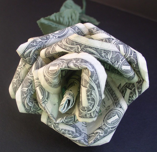 Dorothy Kaplan - Money Rose (Modular Origami) | Flickr ... - photo#17