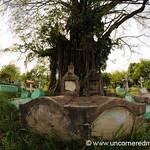 Livingston Cemetery, Fisheye - Guatemala