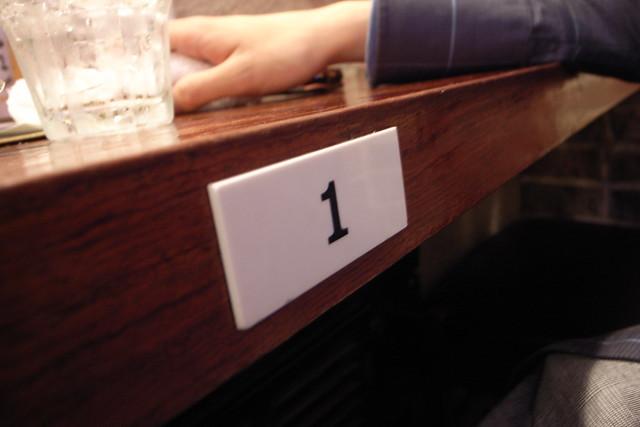 1番カウンター