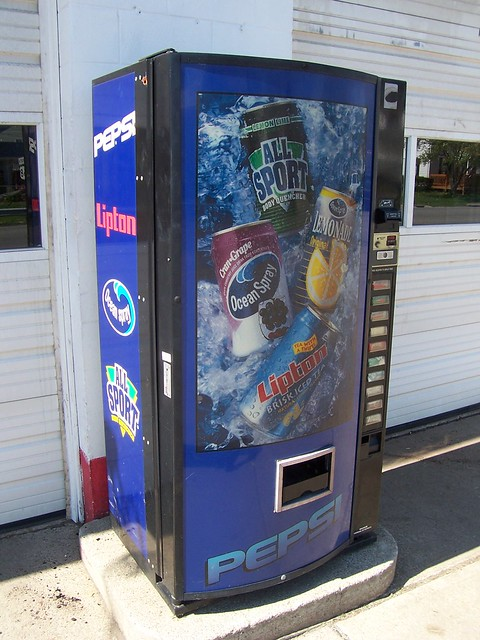 Rare Variety Drink Vending Machine