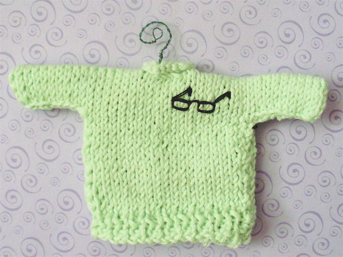 Sweater for Mo Rocca