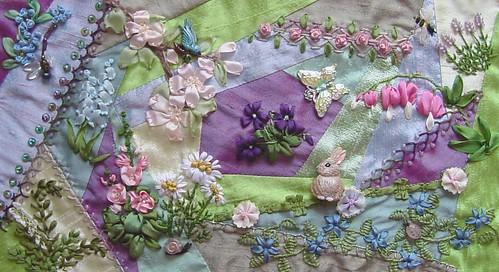 Flower Garden in silk