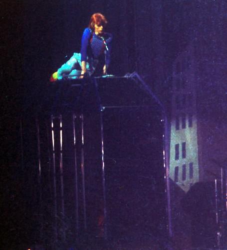 David Bowie Diamond Dogs Tour Photos