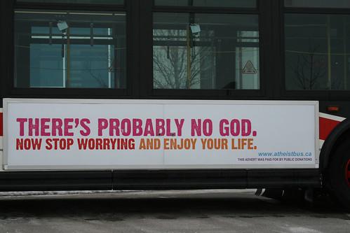 Atheist Bus - Toronto