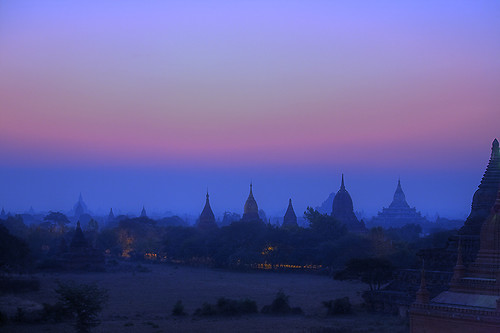 sunrise temple dawn pagoda twilight ancient asia southeastasia burma stupa temples 5d myanmar canon5d magichour pagan pagodas bagan 24105 stupas canonef24105f4is ef24105is qualitypixels