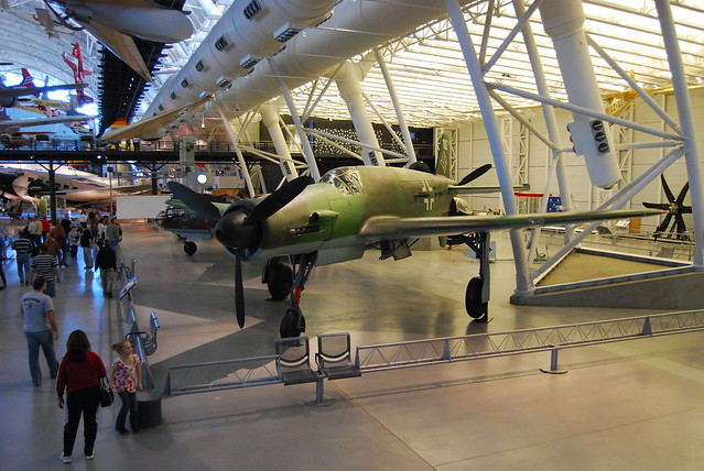 Experimental German WWII Aircraft http://www.flickr.com/photos/mahteetagong/3383799986/