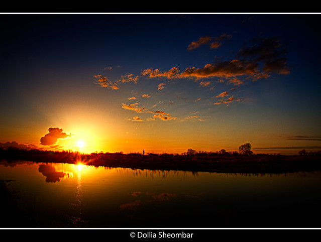Sunset - Schiedam