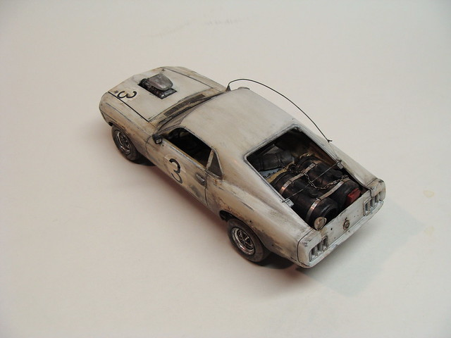 1970 Ford Mustang 429 BOSS with blower (1/24 Road Warrior conversion)