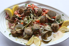 clam, spaghetti alle vongole, seafood, food, dish, cockle, cuisine, mussel,