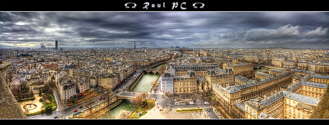 Paris - adventure at the top of Notre-Dame :: Panorama :: HDR