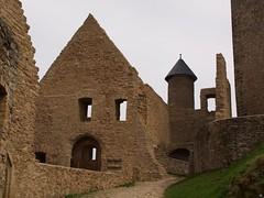 Grundmauern einer Burg