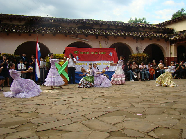 Dance at Tiniente Aquiño