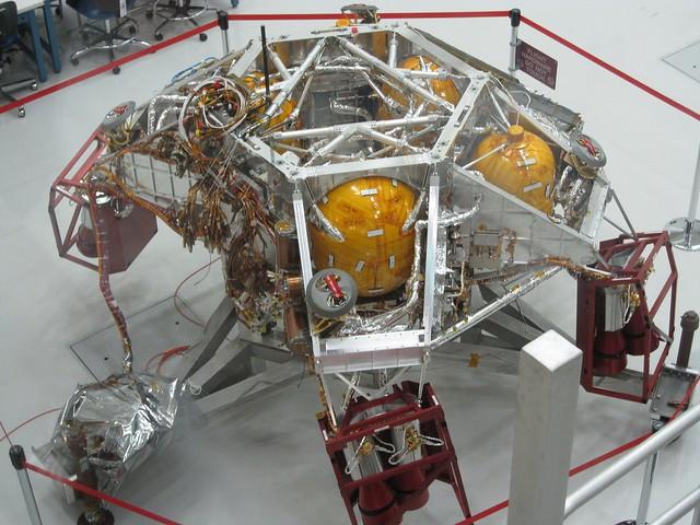 mars rover sky crane - photo #22
