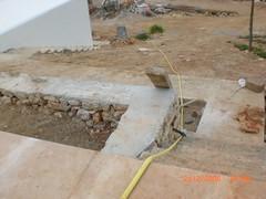 wall, soil, wood, flagstone,