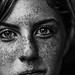 Freckled Youth B&W by AdventureRequired