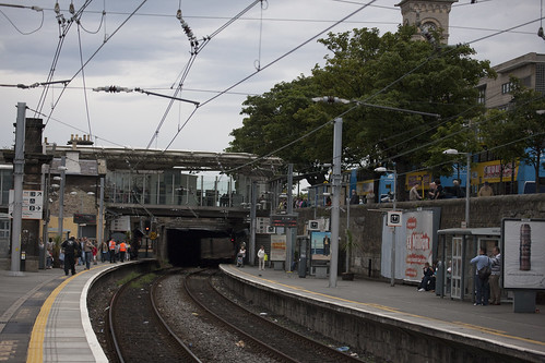 Dublin to Dún Laoghaire Railway photo