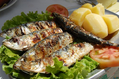 Grilled Sardines 5.50€ / Marisqueira O Varino Nazaré