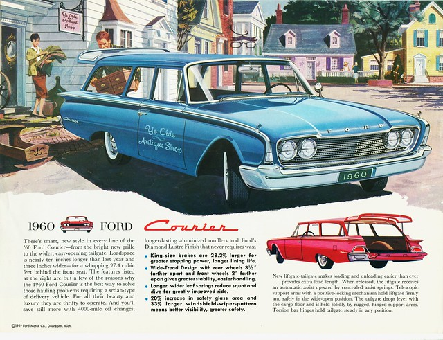 1960 Ford Courier Sedan Delivery advertisement