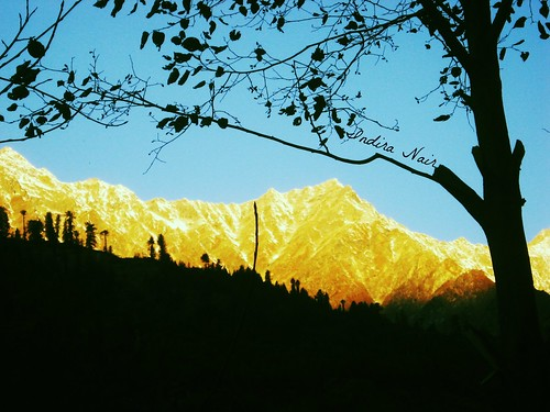 india snow sunrise peak himalaya morningglory manali touristspot goldenlight abigfave icecappedmountains