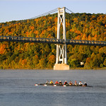 Marist College Crew by the Mid-Hudson Bridge