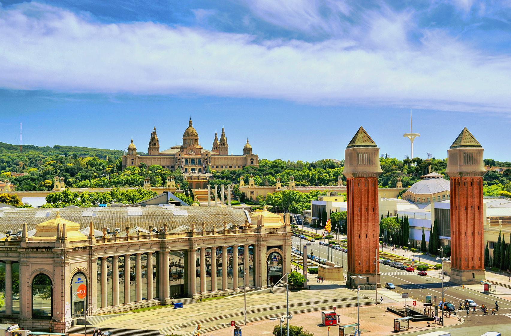 Barcelona Plaza España