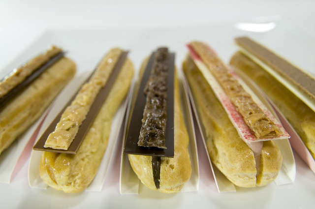 Éclair, Pierre Marcolini, Ginza | Flickr - Photo Sharing!