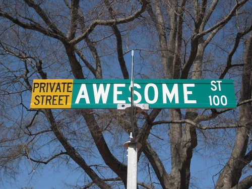 A Street Called Awesome