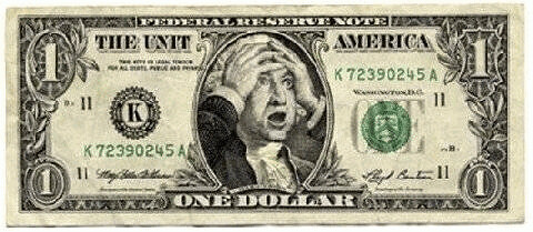 Dollar after Republicans and Bankers Messed Things Up