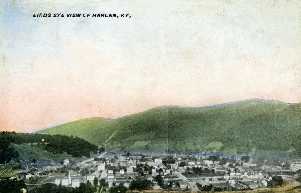 Harlan (KY) United States  city photos gallery : bluegrass coal ages smalltown cumberlandriver cancellation verda dpo ...