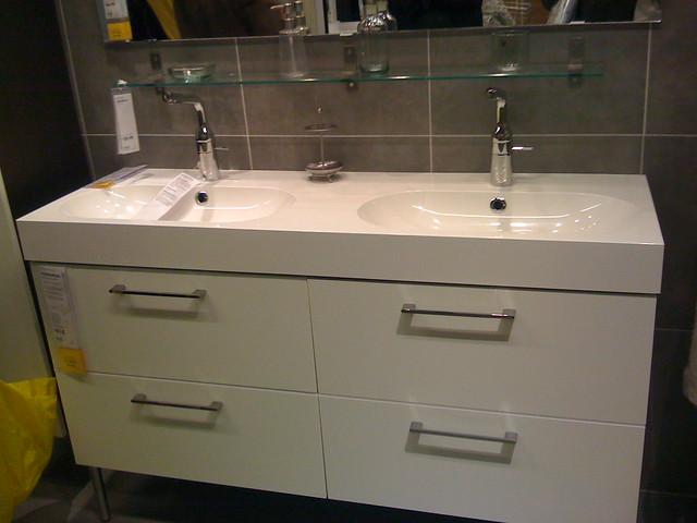 Eckbank Kunstleder Schwarz Ikea ~ Ikea Double Bathroom Sink For Sale Georgian Farm Houses Pinterest Ikea