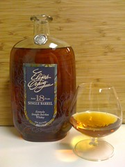 opened the elija craig 18 year old bourbon