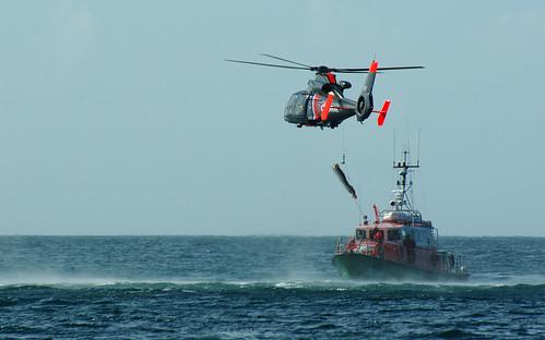 Helitreuillage SNSM Marine Nationale